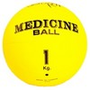 Aerofit FT-MB-1K-V Медицинский мяч 1 кг, желтый