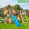 Jungle Gym Детский игровой комплекс Jungle Chalet + Climb Module Xtra