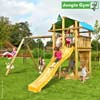 Jungle Gym Детский игровой комплекс Jungle Fort + Swing Module Xtra
