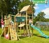 Jungle Gym Детский игровой комплекс Jungle Palace + Bridge Module