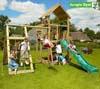 Jungle Gym Детский игровой комплекс Jungle Palace + Climb Module Xtra