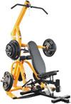 Powertec WB-LS14, Силовая скамья с нагрузкой рычагами Lever Gym TM